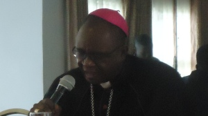 His Lordship Joseph Befe Ateba, Arch Bishop of Kribi and President of the NCC